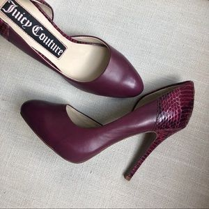Juicy Couture 'Elise' Leather Heels